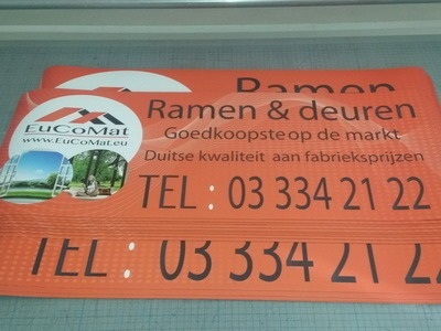 magneet stickers voor belgië