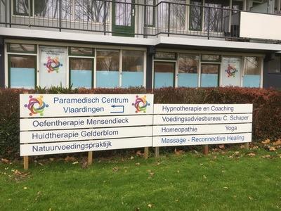 reclamebord paramedisch centrum vlaardingen