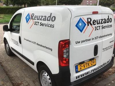 reuzado ict service belettering