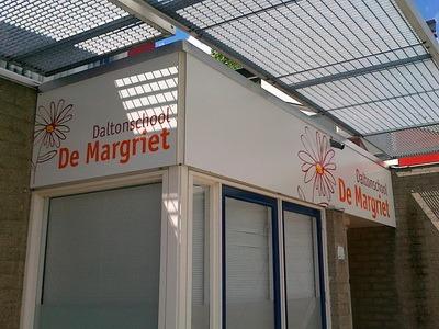 reclamebord daltonschool de margriet