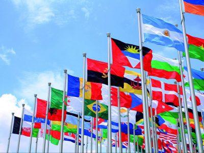 Wereld vlaggen